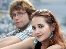 夫妇 免版税图库摄影
