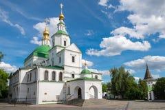 在莫斯科圣丹尼尔修道院的历史  免版税库存照片
