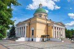 圣丹尼尔修道院三位一体大教堂  图库摄影