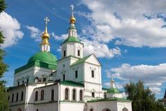 在莫斯科圣丹尼尔修道院的历史  免版税库存图片