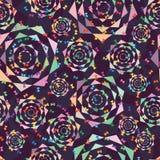 爱蝴蝶上色形状无缝的样式 免版税库存图片