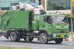 Φορτηγό απορριμάτων Στοκ Εικόνα