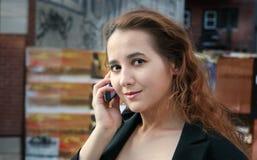 κορίτσι πόλεων Στοκ εικόνες με δικαίωμα ελεύθερης χρήσης
