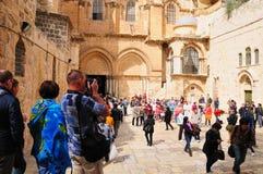 教会圣洁坟墓 耶路撒冷 免版税库存照片