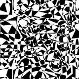 模式任意无缝的形状 库存照片