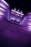 和平紫色 免版税库存图片