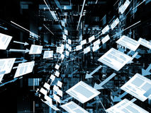 Эволюционируя обработка документов Стоковое фото RF