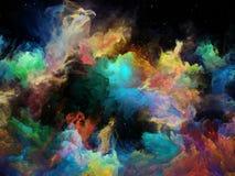 Внутренняя жизнь межзвёздного облака космоса Стоковое фото RF