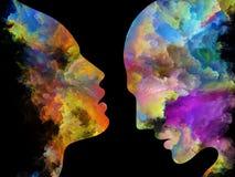 Парадигма внутренних цветов Стоковые Фотографии RF
