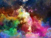 Области межзвёздного облака космоса Стоковые Изображения RF