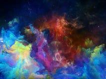Памяти межзвёздного облака космоса Стоковое Изображение RF