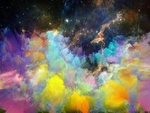 Темнота межзвёздного облака космоса Стоковые Фотографии RF
