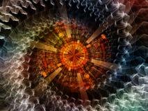 Зрение центральный обрабатывать Стоковые Изображения
