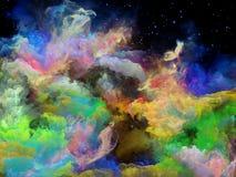 Случайное межзвёздное облако космоса Стоковая Фотография RF