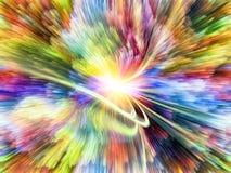 Сигнал цветовой синхронизации Стоковая Фотография