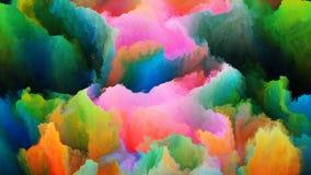 Выдвижение цветов Стоковое Изображение