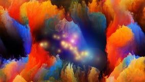 Виртуальные цвета Стоковые Изображения