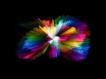 Сигнал цветовой синхронизации Стоковые Изображения