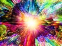 Сигнал цветовой синхронизации Стоковое Изображение