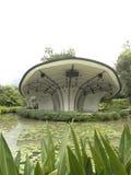 在新加坡植物园的阶段 库存图片