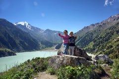 В горах Стоковое Изображение RF