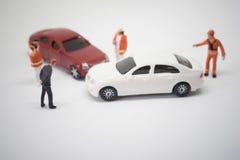 Σκηνή ατυχήματος τροχαίου ατυχήματος Στοκ Φωτογραφίες