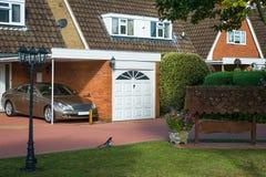 英国家庭房子 免版税库存图片