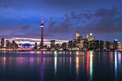 ορίζοντας Τορόντο Στοκ εικόνα με δικαίωμα ελεύθερης χρήσης