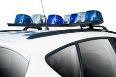 полиции автомобиля Стоковое Изображение