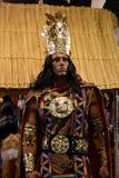 印加人国王 免版税库存照片