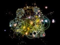 Шестерни астрологии Стоковое Фото