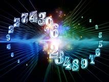 Скорость номеров Стоковые Изображения RF