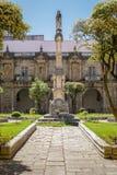 圣克拉拉修道院在科英布拉,葡萄牙 免版税库存照片