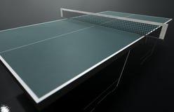 Таблица настольного тенниса Стоковое Фото