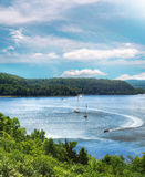 尚普兰湖 免版税图库摄影