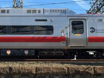 斯坦福德地铁北部铁路 免版税图库摄影