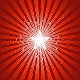 φωτεινό λαμπιρίζοντας αστέρι ανασκόπησης Στοκ Φωτογραφία