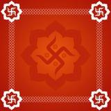 αφηρημένος αγκυλωτός σταυρός ανασκόπησης Στοκ φωτογραφία με δικαίωμα ελεύθερης χρήσης