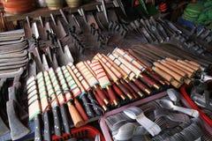 工具商店-丰沙湾老挝 免版税库存图片