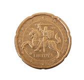Центы евро Стоковые Фото