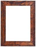 Высекаенный вырез деревянной рамки Стоковые Изображения