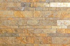 老无缝的石头铺磁砖盖瓦墙壁 免版税库存照片