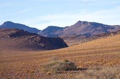 摩洛哥的干燥小山 免版税图库摄影