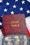 Библия солдата Стоковые Фотографии RF
