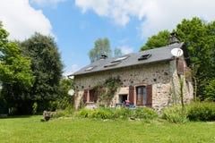 可爱法国的房子 库存图片