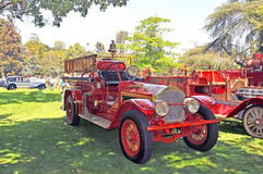 圣马力诺消防车 库存图片