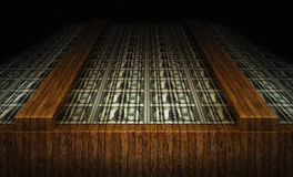 美国板料一美金 免版税库存图片