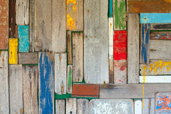抽象木墙壁背景 图库摄影