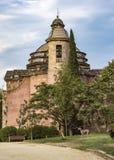 军事教区教堂在巴塞罗那 免版税库存图片