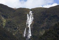 新西兰的瀑布 图库摄影